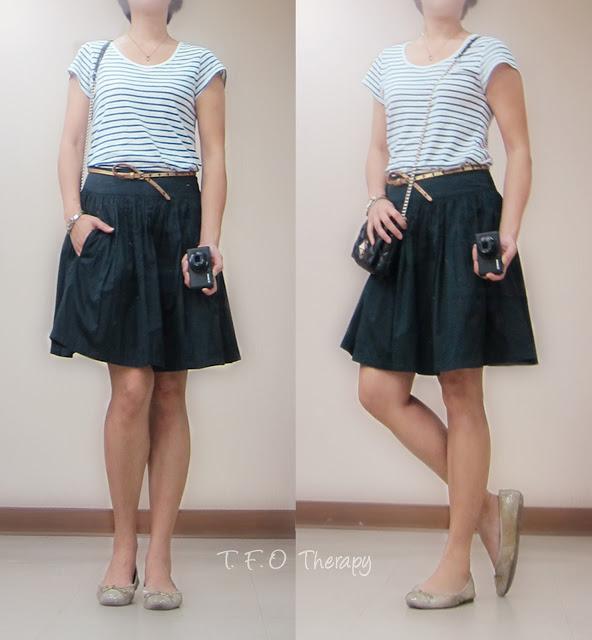 基本款條紋T恤 / Basic Stripe Tee