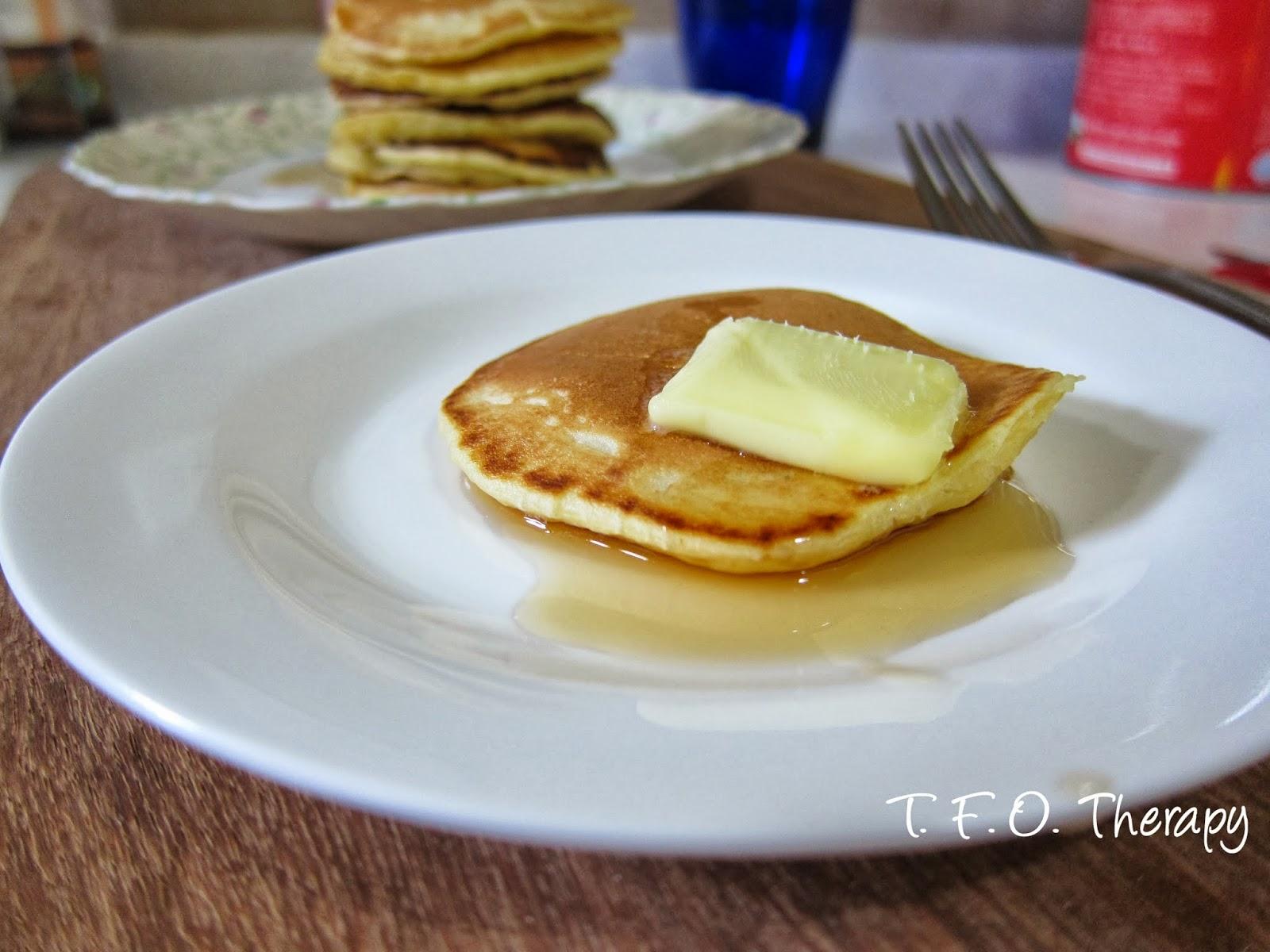 迷你美式鬆餅 (mini pancakes)