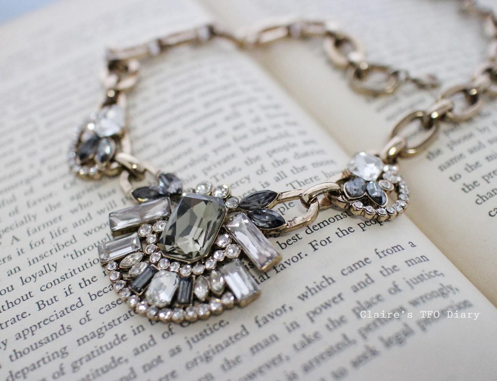 復古寶石項鍊 / Statement Necklace