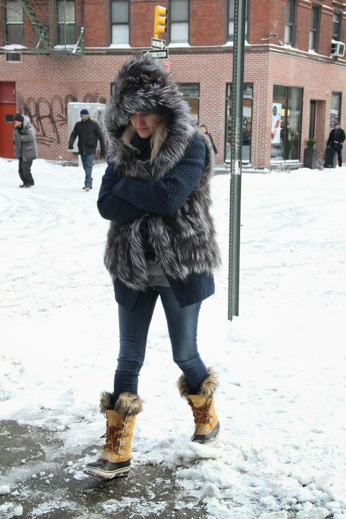 皮草背心 / Fur Vest