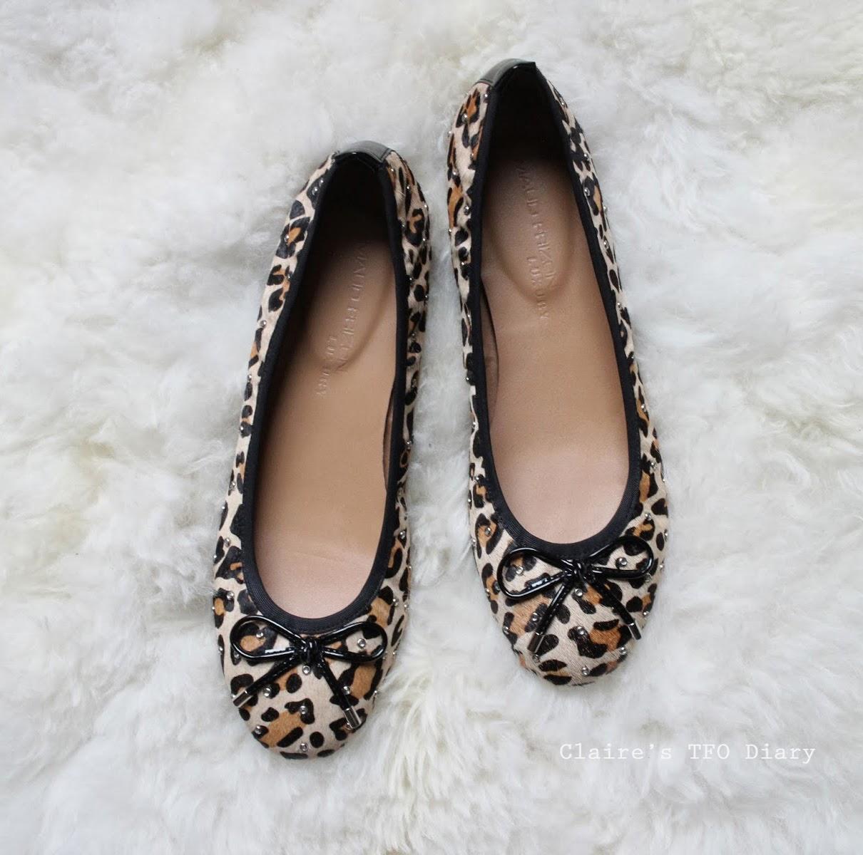 豹紋平底鞋 / Leopard Flat