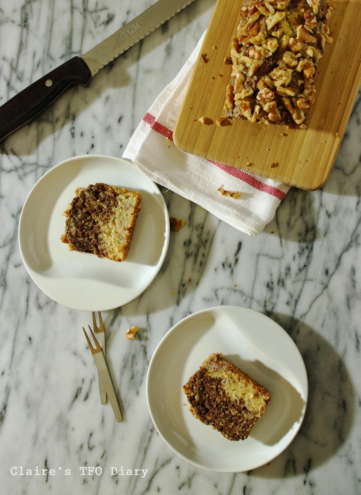 香蕉巧克力雙層蛋糕