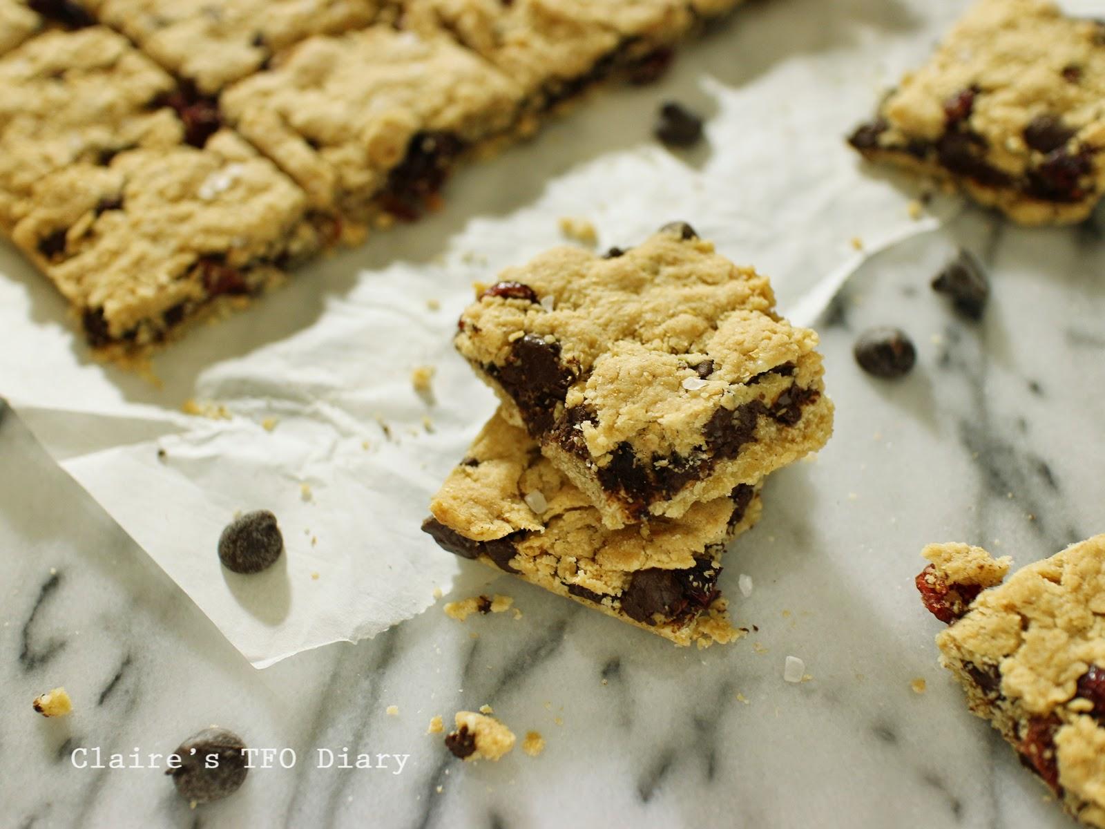 巧克力蔓越莓夾心餅乾 (使用植物油)