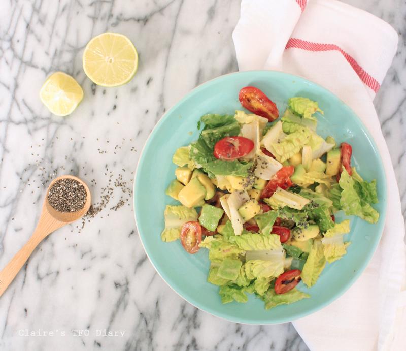 享受輕食好簡單02 – 酪梨番茄沙拉