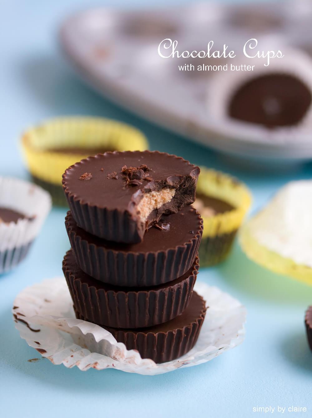 巧克力DIY – 手作杏仁餡巧克力糖